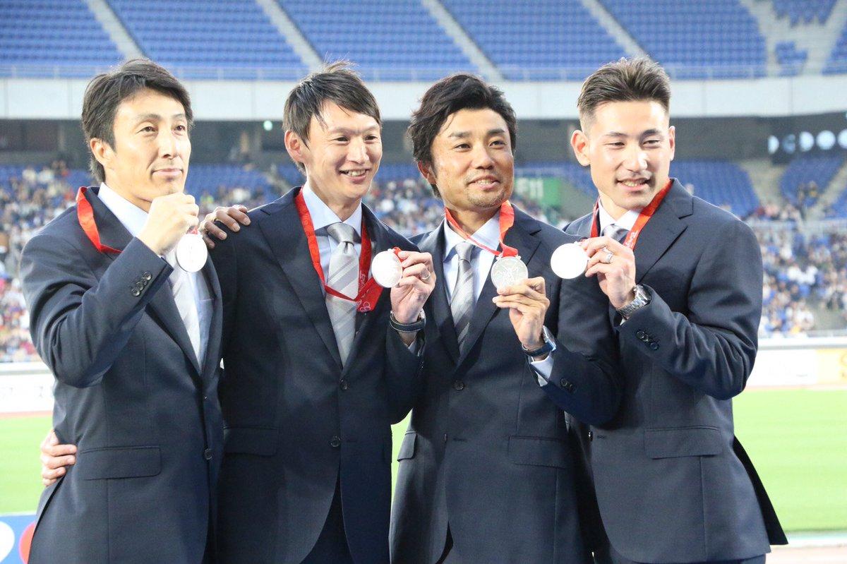 2008年北京五輪のリレーメンバーに銀メダル