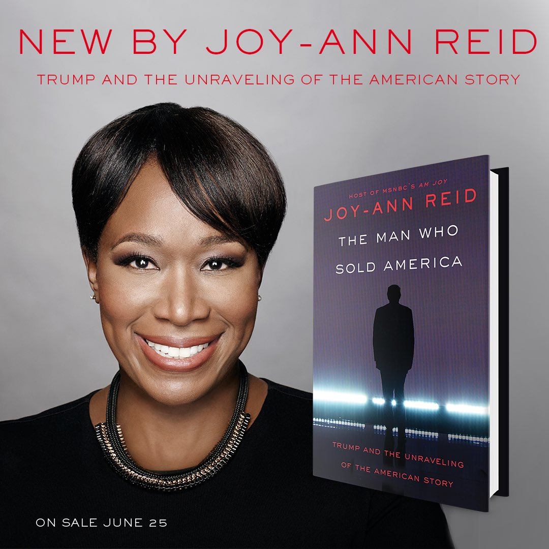 I'm so excited to debut my new book, The Man Who Sold America: Trump and the Unraveling of the American Story, which is available for pre-order now and comes out June 25th! Tour details to come!! https://www.amazon.com/Surviving-Trump-Field-Staying-Madness/dp/0062880101/ref=mp_s_a_1_3?keywords=the+man+who+sold+america+book&qid=1557672596&s=gateway&sr=8-3…