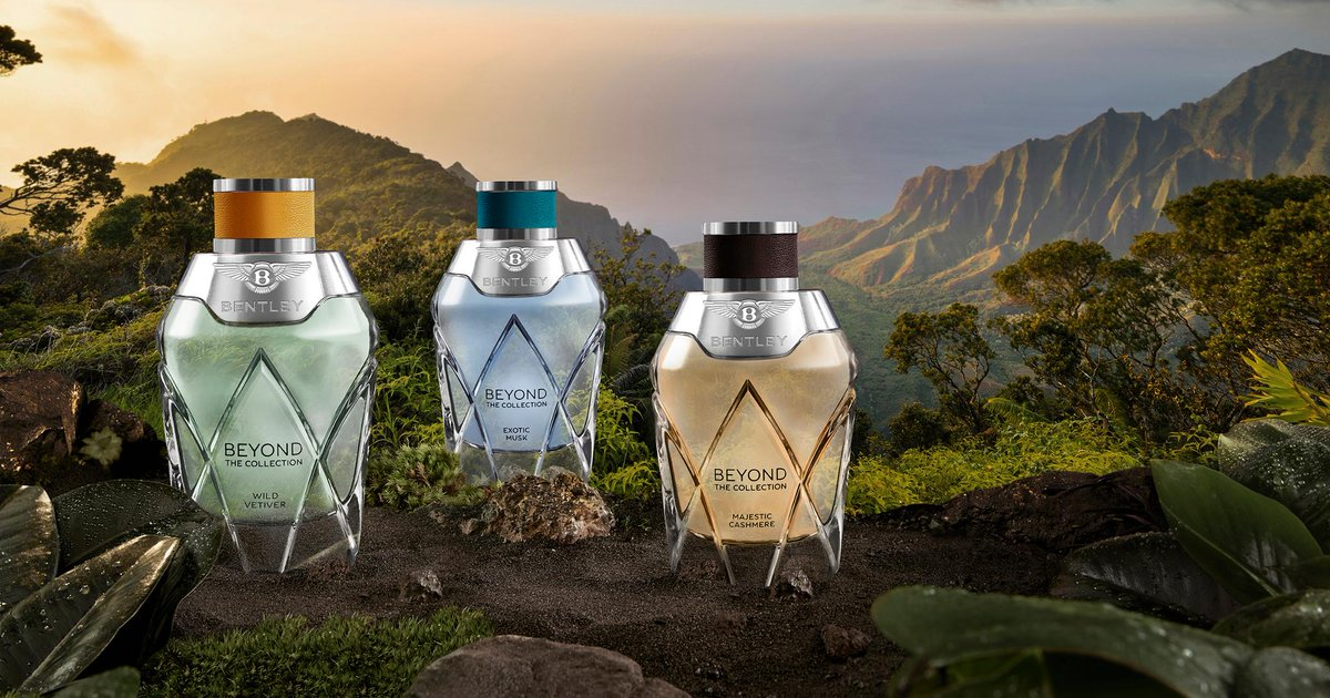 #Bentley launches a new collection of three exclusive fragrances inspired by founder W.O. Bentley's passion for travel. Learn more: http://bit.ly/2vVJ6J6