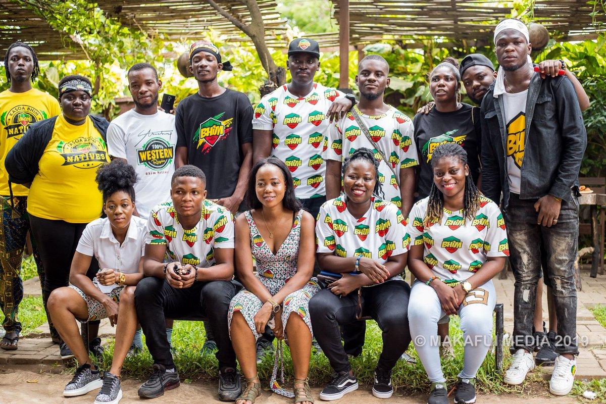 BHIMNATION VGMA VOTING PARTY 2019   THANK YOU ALL FOR COMING : @MakafuiMedia   cc: @stonebwoyb @GHMusicAwards @CharterhouseGH<br>http://pic.twitter.com/ei60r3zmDw