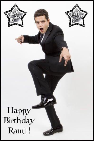 HaPpY bIrThDaY Rami Malek 38 today! Oscar winner!
