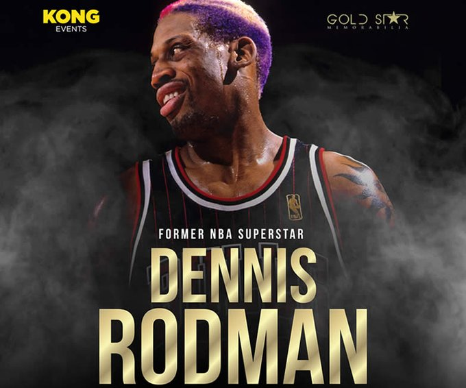 "May 13:Happy 58th birthday to retired professional basketball player,Dennis Rodman (""The Worm\"")"