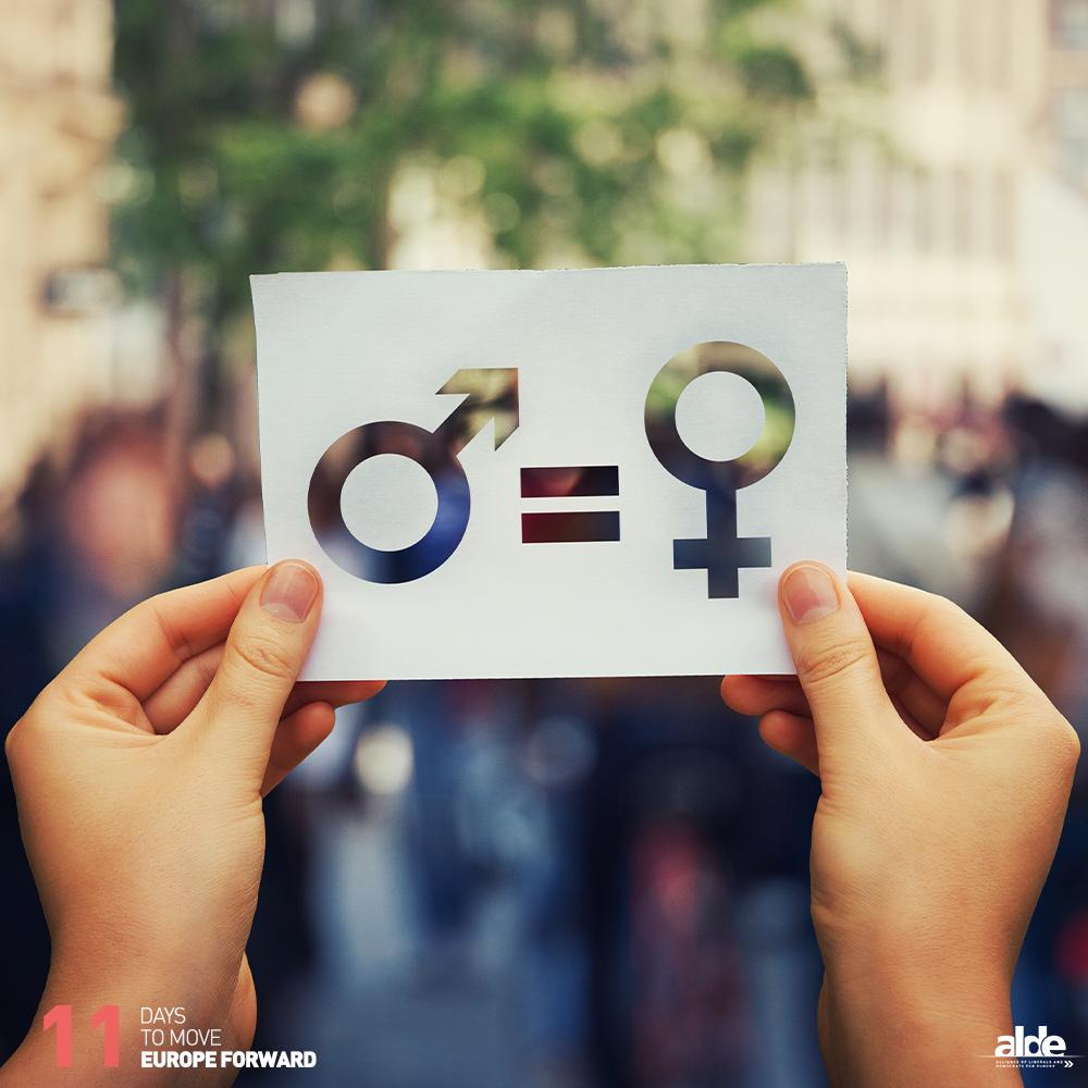 ♀️♂️ Gender equality is far from achieved in Europe: at the current rate of progress, we need another 70 years to achieve equal pay for all. We will continue to campaign to reduce the gender pay and pension gaps and to promote gender equality in decision-making processes.