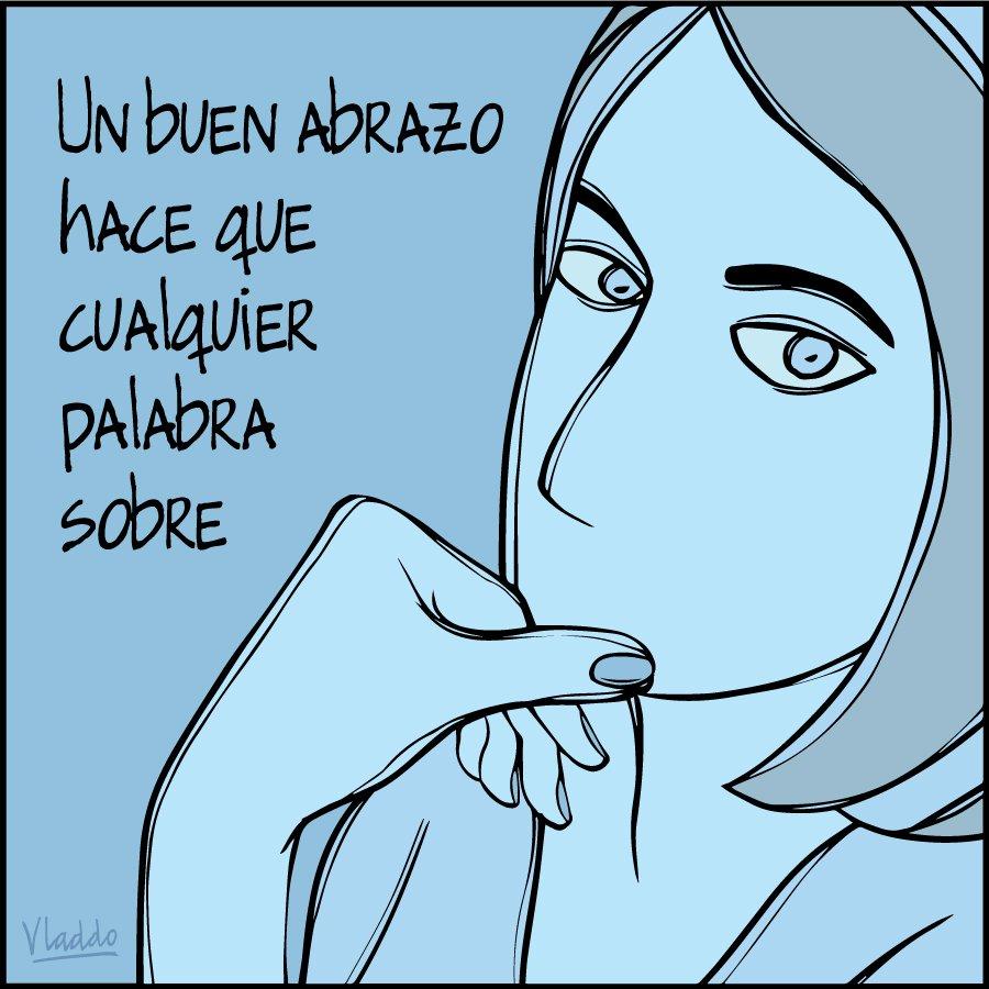 Un buen abrazo... RT @ALEIDA: Sin palabras... #NuevaViñeta, en @RevistaSemana