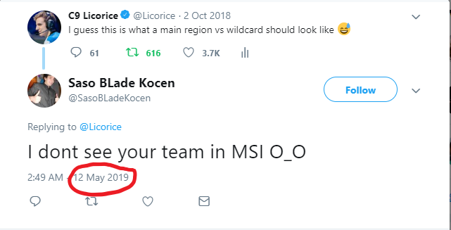tfw your tweet gets necro'd so you just get flamed 😅😅