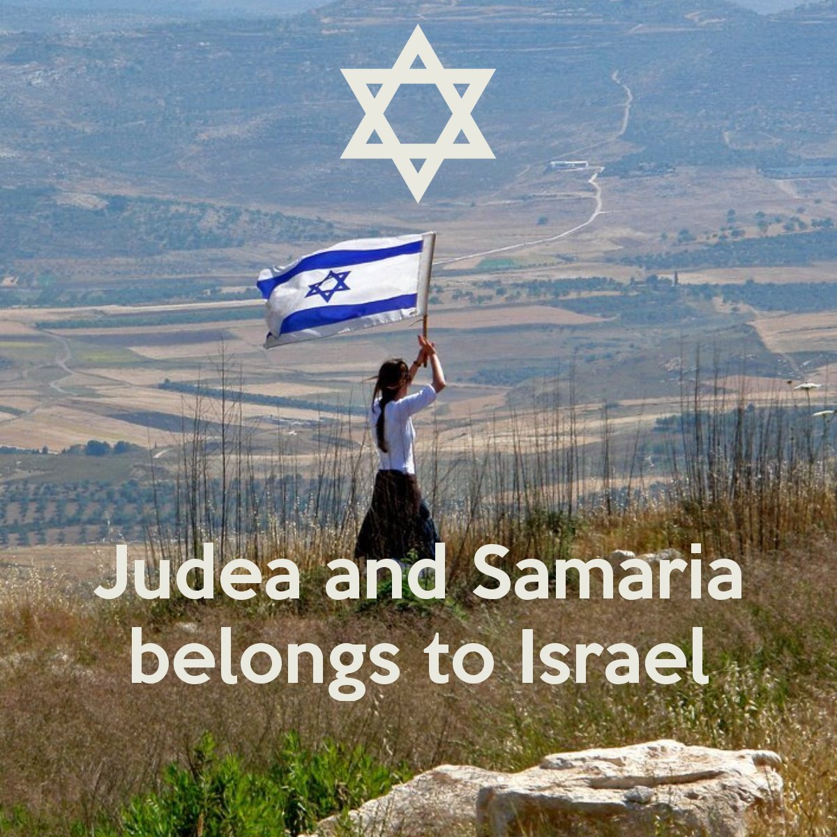 """And by the way...it is not  """"the Westbank""""...it is and has  always been, since biblical times...Judea and Samaria... 👉The Jewish Homeland👈"""