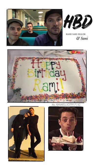 Happy Birthday Rami Malek & Sami Malek!!!