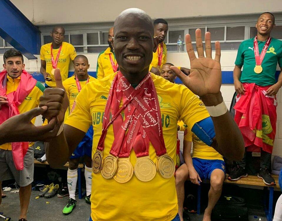 Image result for Hlompho Kekana league medals