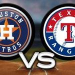 Image for the Tweet beginning: #MLB#HoustonAstros - #TexasRangers ,