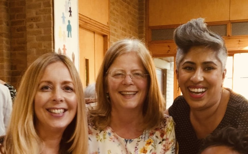 A privilege to join old friends and new to celebrate the wedding of @AnnLimb and Maggie this weekend. A joyful day 💚 @Shahida_2012 @CEOMKCollege @CEOMKCollege