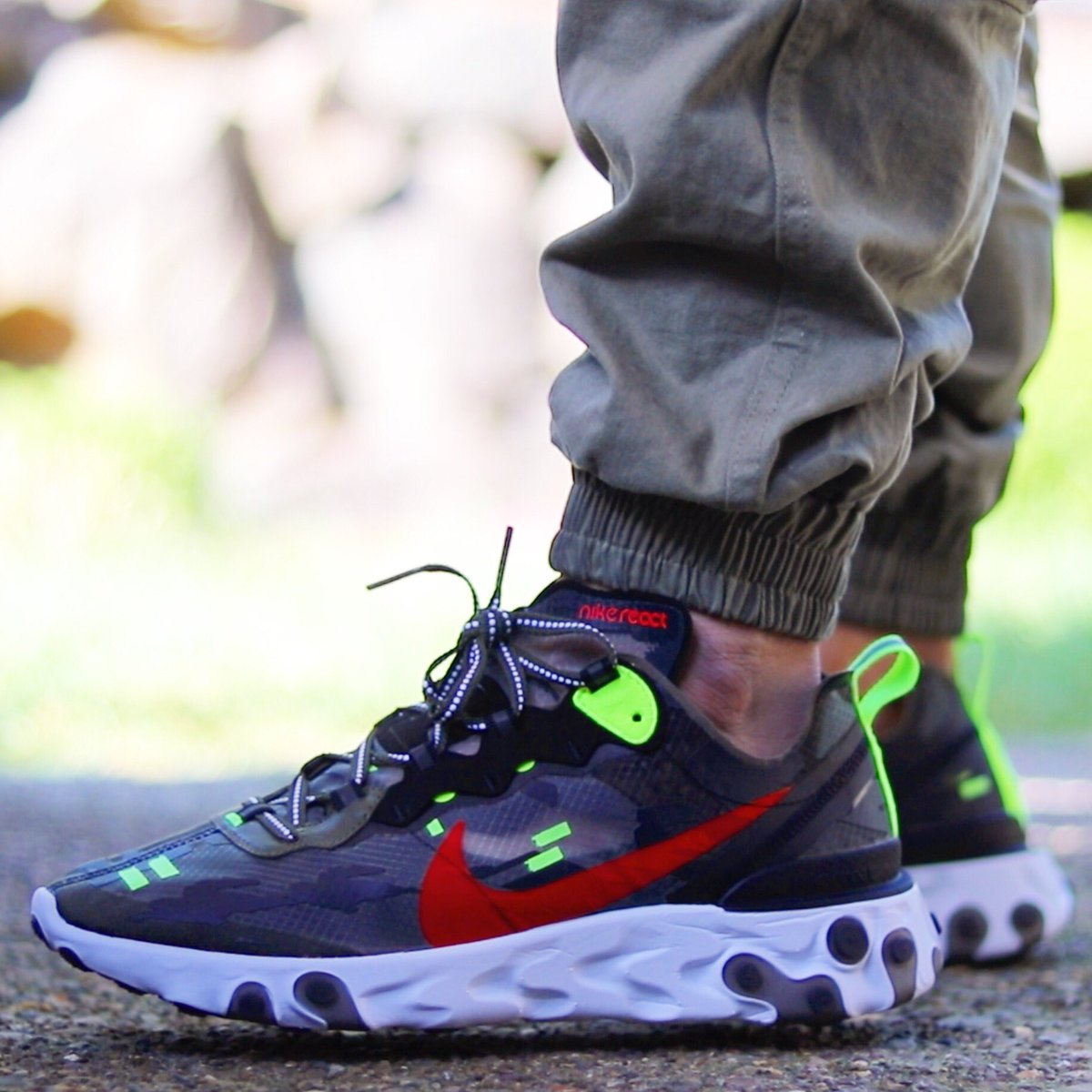 61f9e1e400250 Nike React Element 87 great shoe forfor  130! w code SPORT30 (ends tonight)  https   t.co OXv2YnPAkh ·  heskicks http   bit.ly 2Wv60D1