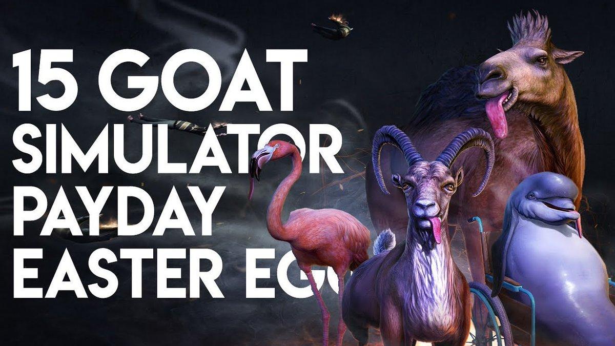 goatsimulatorpayday hashtag on Twitter