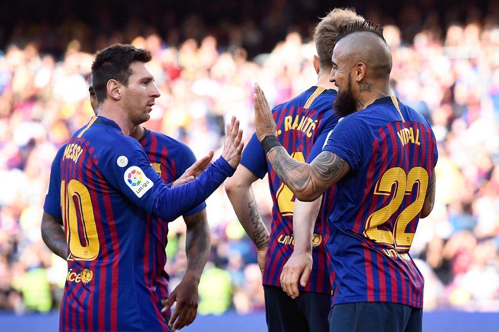هدفا فوز برشلونة على خيتافي 2-0 في الدوري الإسباني