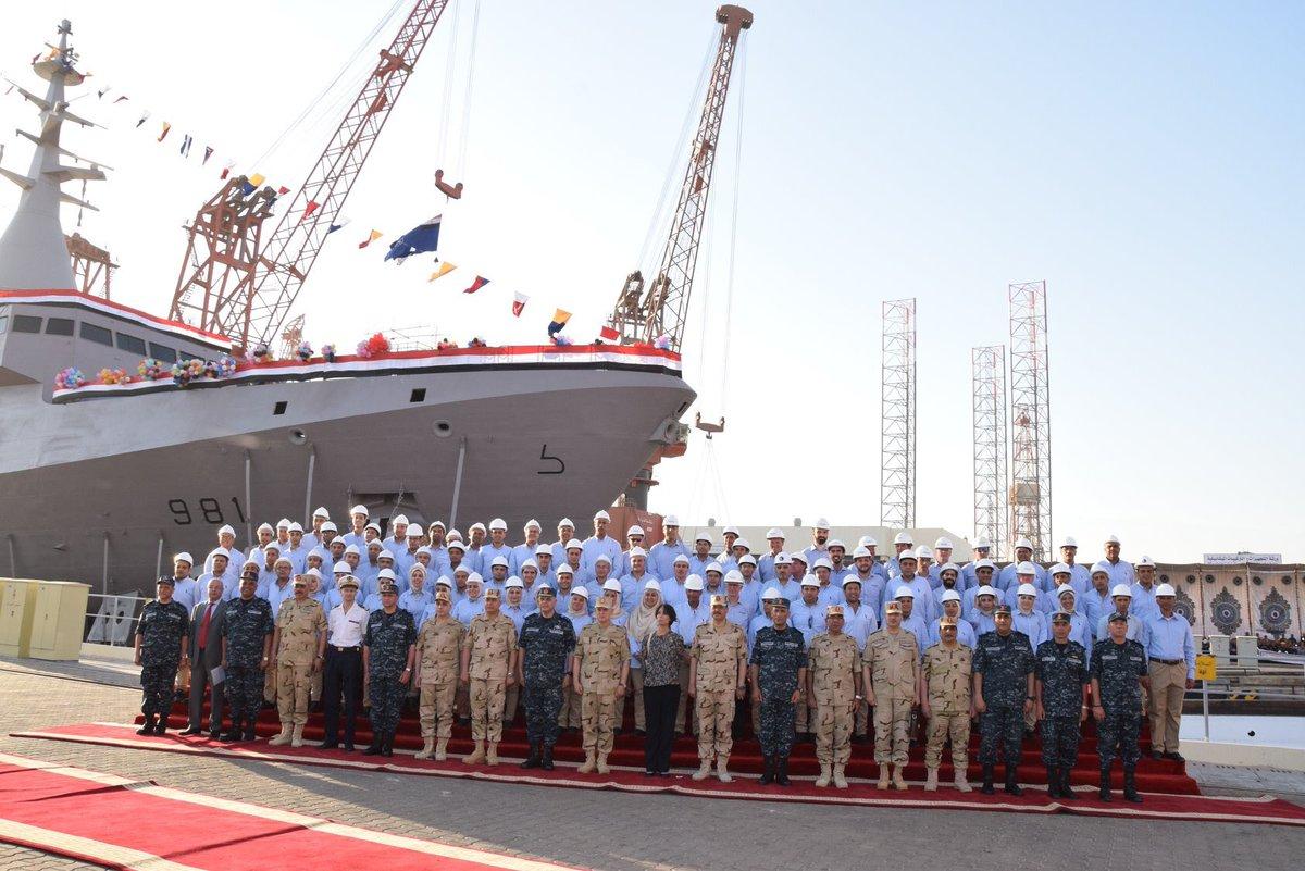 كورفيتات Gowind 2500 لصالح البحرية المصرية  - صفحة 3 D6YEglWXsAAkMjd