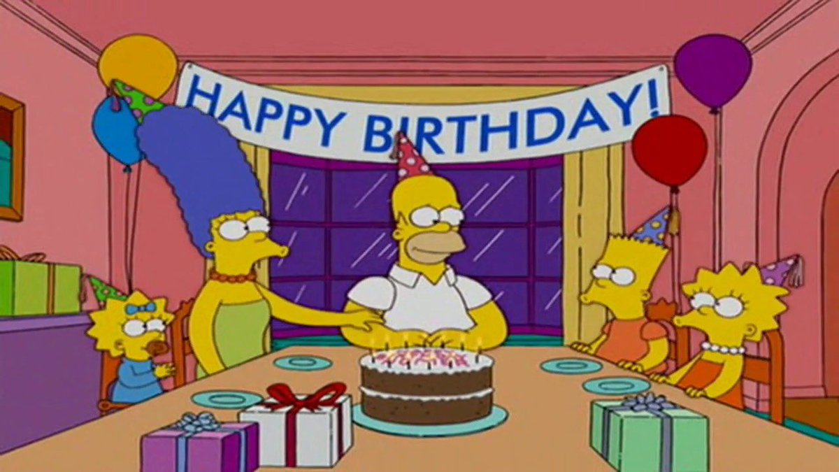 It's Homer Simpson's birthday today.  Can we get 10 retweets for one of the greatest cartoon characters? https://t.co/8aU39pZr1B