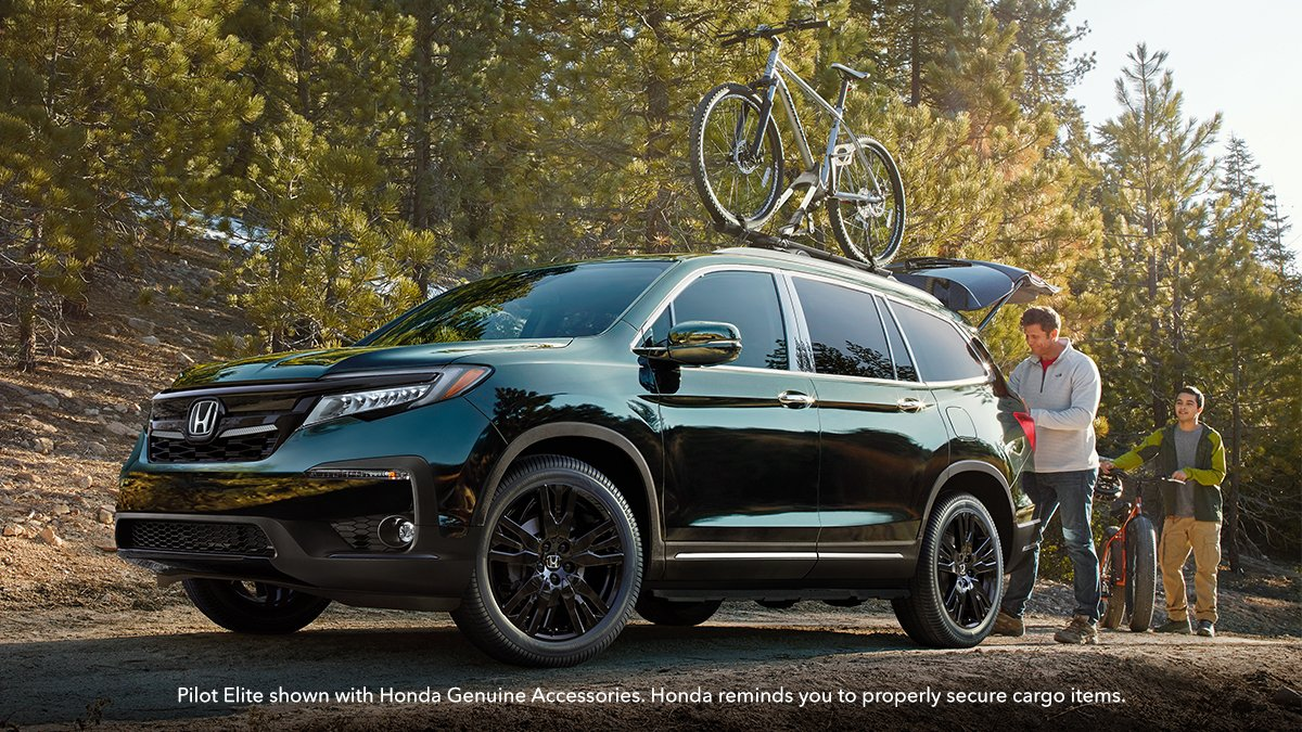 Racking up miles has never been sweeter. Shop bike racks and other accessories at Thurston Honda.