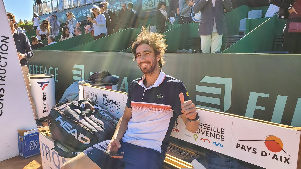 """Construction Aix En Provence atp challenger tour on twitter: """"? from the champ"""