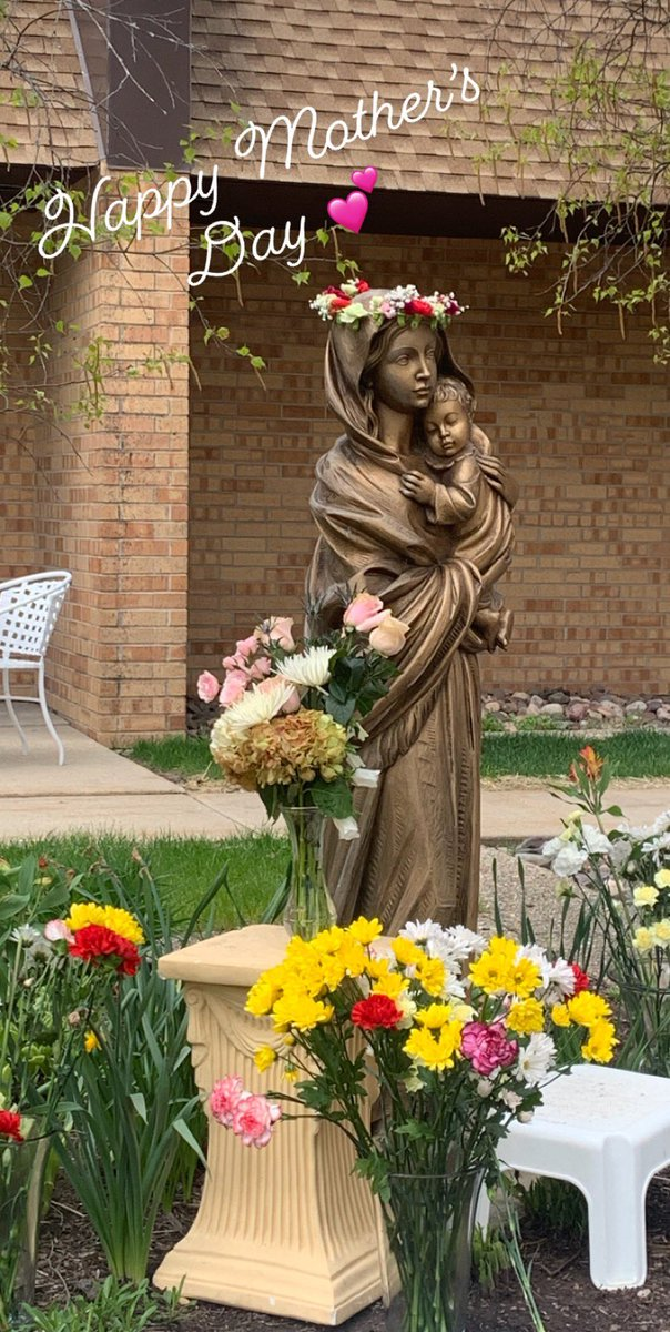 Happy Mother's Day to all of the mothers, stepmothers, grandmothers, godmothers, those struggling to become mothers, and those who act as mothers. #mothermaryprayforus #happymothersday #maycrowning<br>http://pic.twitter.com/LB9l0s0nRD