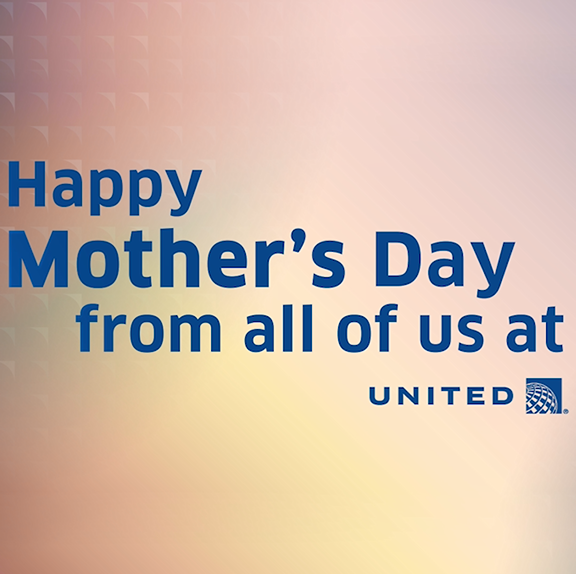 When asked who their superhero was, our United family had the same answer - Mom.  #HappyMothersDay 💙
