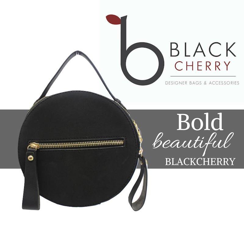 Bold Beautiful Blackcherry Handbags