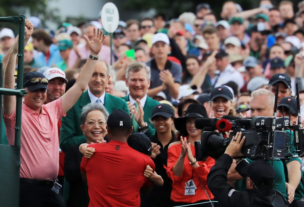 Wishing a Happy Mother's Day to my biggest supporter and the rock in our family. Thank you for your continuous love and for still being that smile in the crowd I look for after the 18th hole. Love you Mom!
