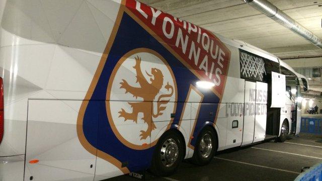 bus Lyon Lyonnais Marseille caillassage