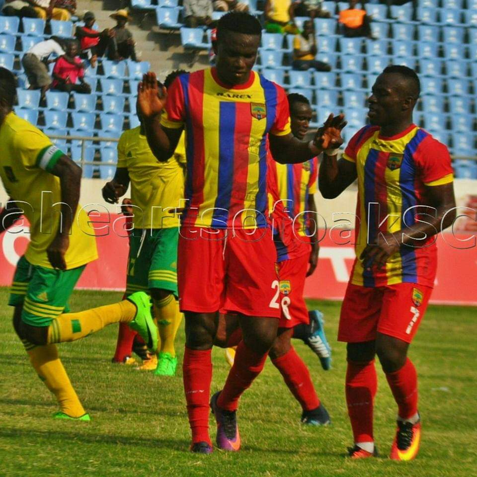 Special Competition: Hearts defender Christopher Bonney delighted to score in win over Ebusua Dwarfs
