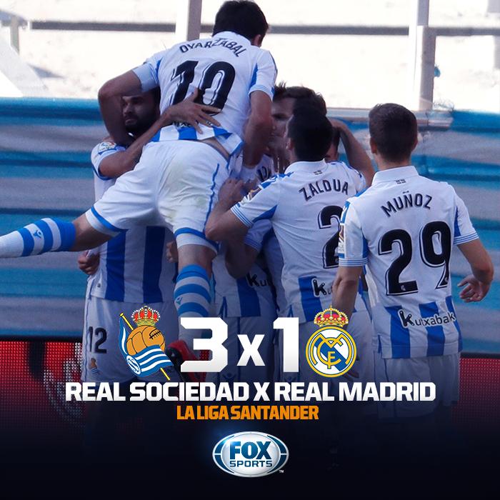 FOX Sports Brasil's photo on Real Sociedad