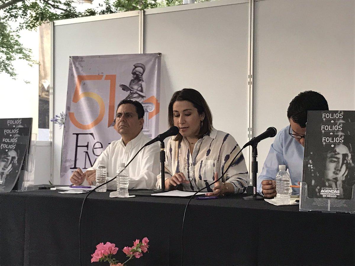 . @BrenJSM reitera la pluralidad de @RevistaFolios y recuerda que el @iepcjalisco además de organizar elecciones difunde cultura cívica https://t.co/xh11mZNMpX