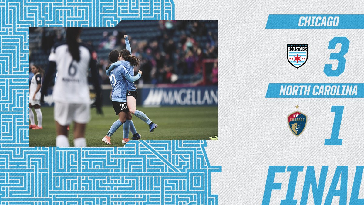 A Mother's Day Gift  Chicago grabs three points.