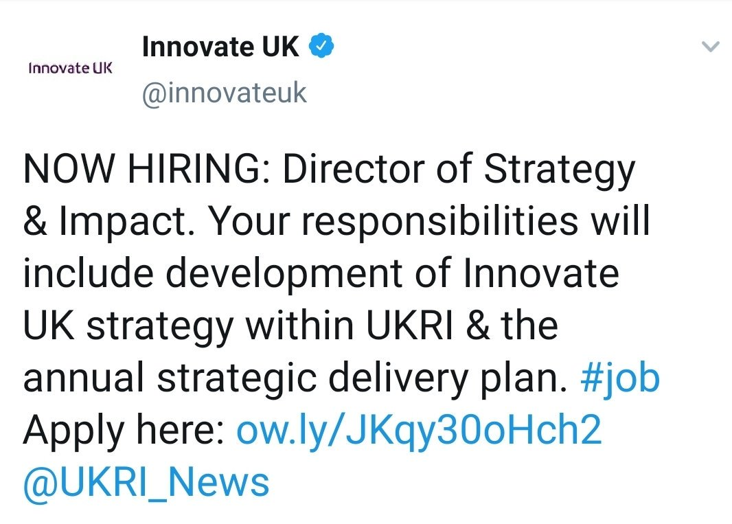 UKRI on Twitter: