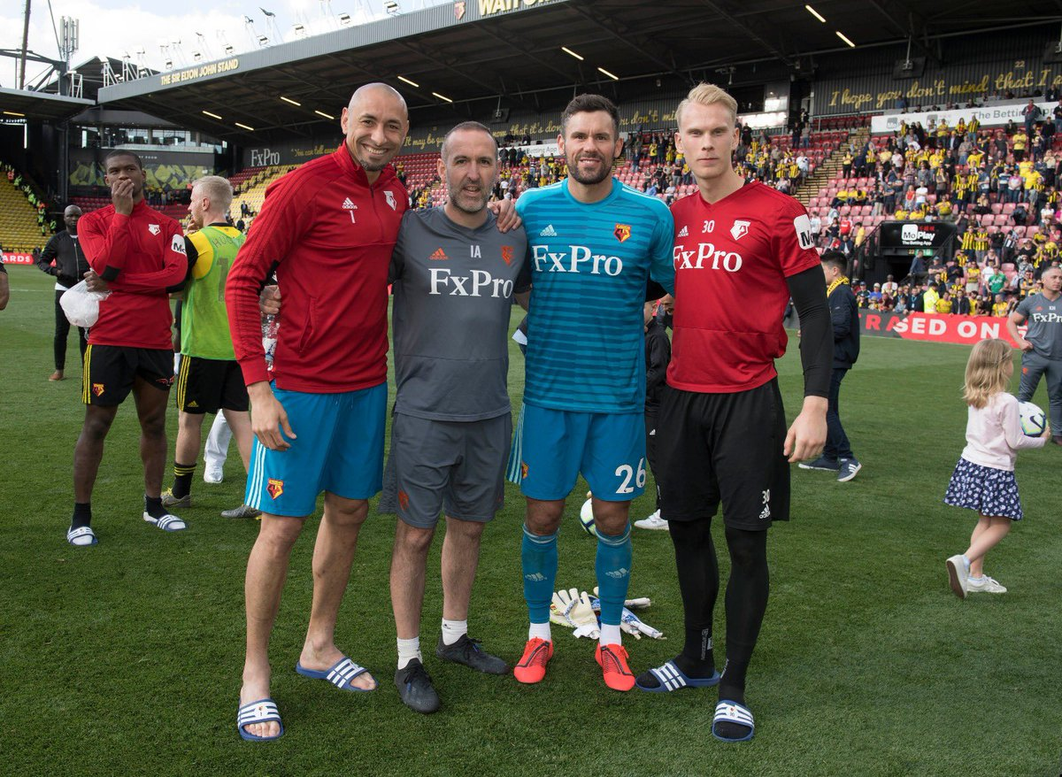 Can't quite believe we lost that 4-1 however it's been a fantastic season. Enjoyed every second. These guys👇 and every other Watford player, staff and fan make it a pleasure to go to work every day.