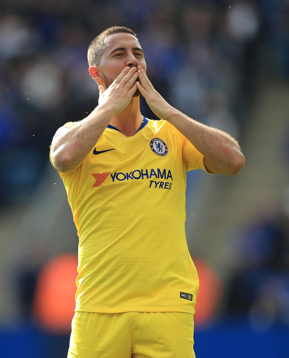 """Eden Hazard: """"I have made my decision. I wanted it (to be cleared up earlier), but that hasn't happened. I'm still waiting like you are waiting. I don't think (finishing in top 4) makes any difference. I've made my decision, that's it. I've told the club a few weeks ago."""" #cfc"""
