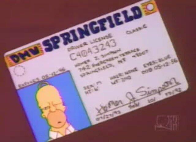 Happy 63rd birthday to Homer Simpson