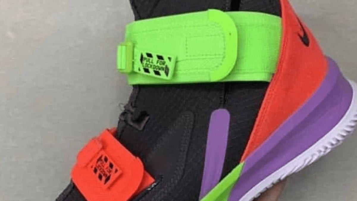 ff3ac0ce1426 photos of the nike lebron soldier 13 have surfaced