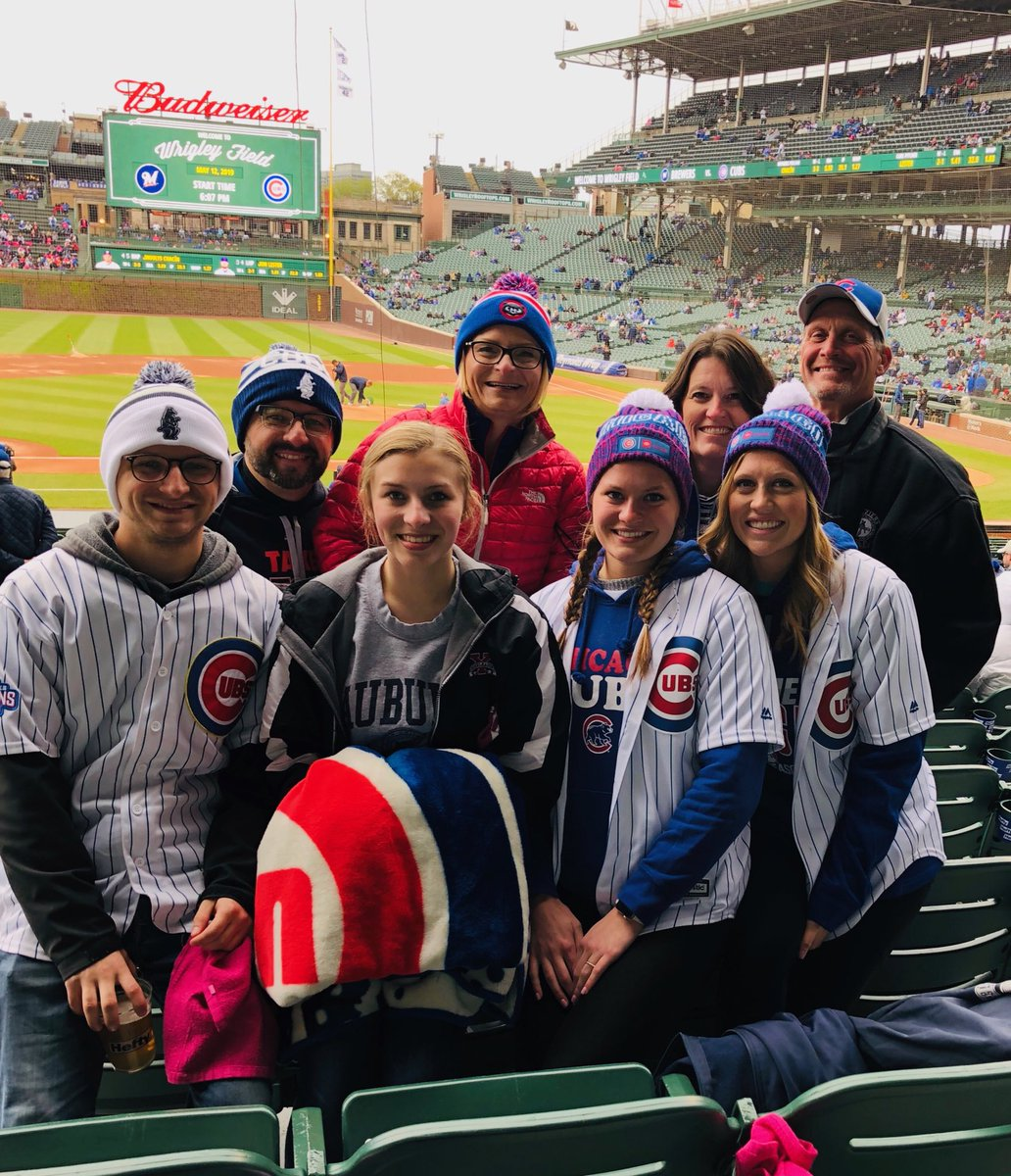 ⁦@Cubs⁩ spending our Mother's Day at Wrigley!! https://t.co/N5MAD7wT7L