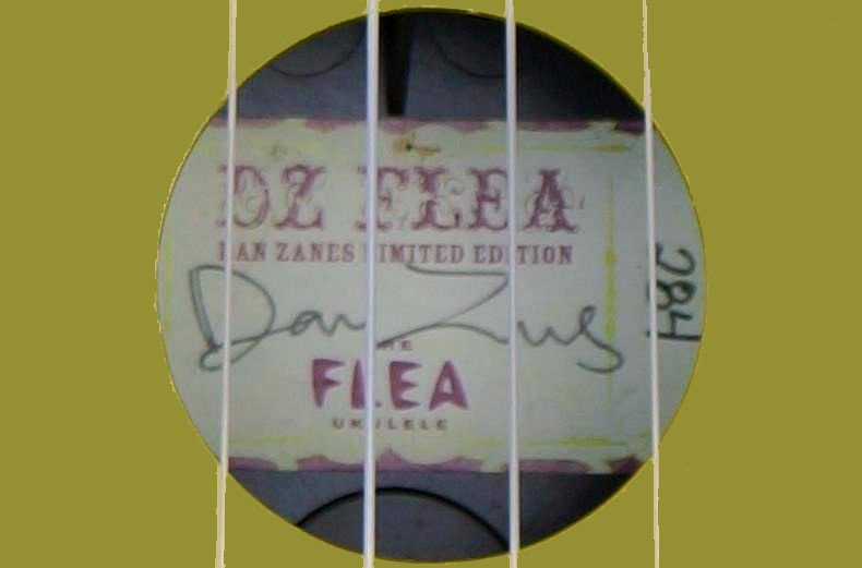 Magic fluke company Flea Ukulele