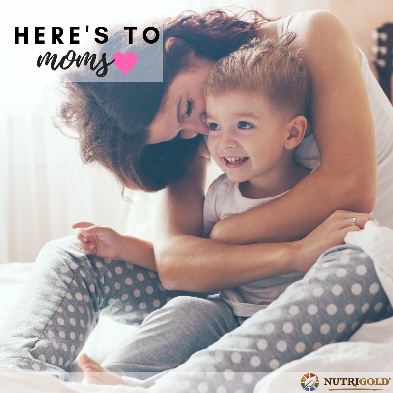 Happy Mother's Day to all our amazing mamas out there!  #MothersDay #NutriGold #NutriGoldUSA #CheersToMom https://t.co/fpbulJQ4ym