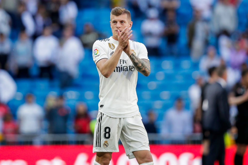 It was a difficult season for Real Madrid, but Toni Kroos is going nowhere. Hes signed a new deal at the Bernabeu. More here 👉 bbc.in/2Hy4CJm