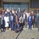 Delegates attending the ICAO ESAF WACAF Workshop on FIR & Regional Contingency Plans Development & Implementation Coordination, now underway at the ATNS ATA in Johannesburg, SA, ending on Friday, 24/5 @icao @IATA @DoTransport @SABCNewsOnline @cnni @SAgovnews