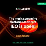 Image for the Tweet beginning: Moozicore IEO has taken off!