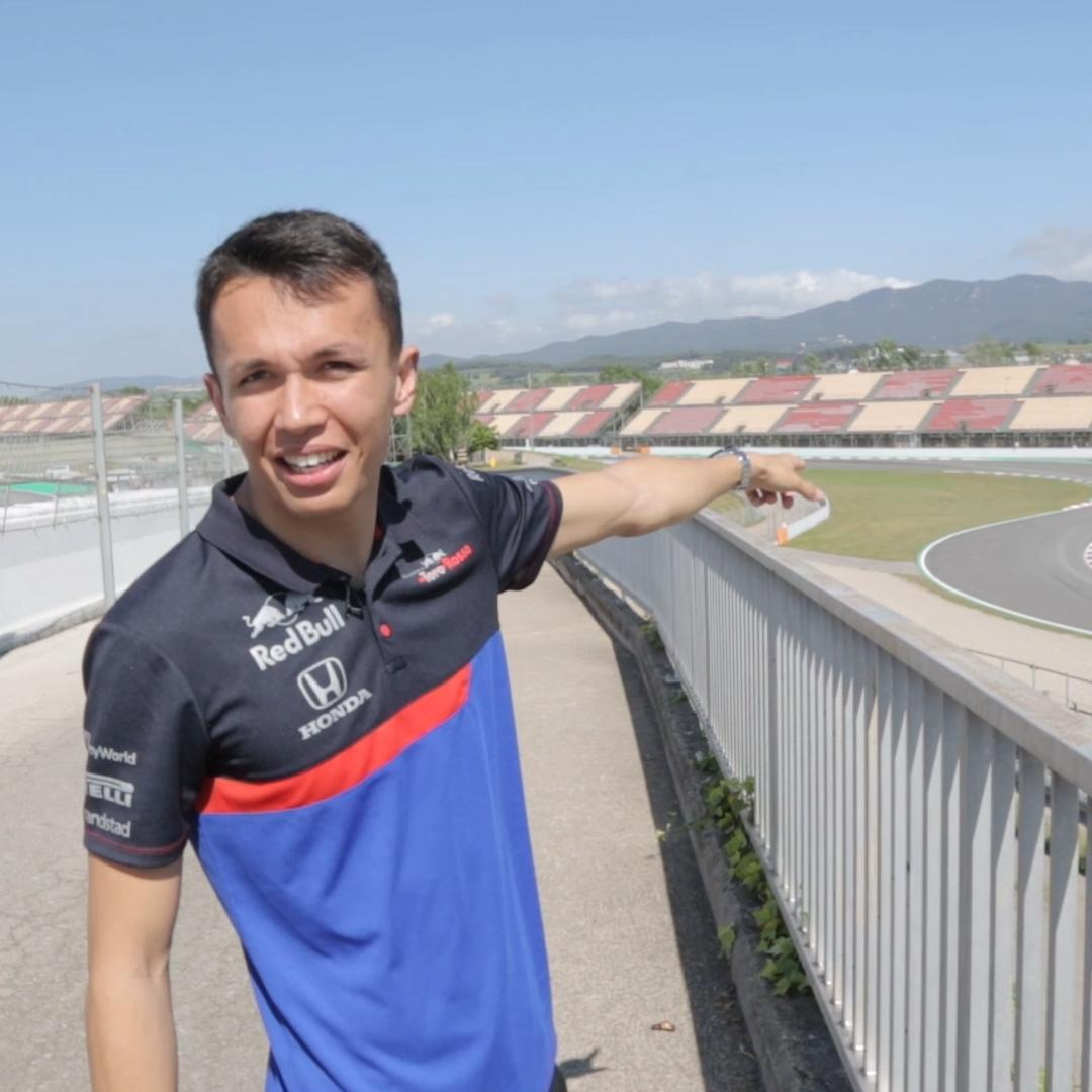 Miss @alex_albon's behind the scenes track guide of the Circuit de Catalunya?   Catch up with the full video here >> https://youtu.be/HS8DA-vMwms
