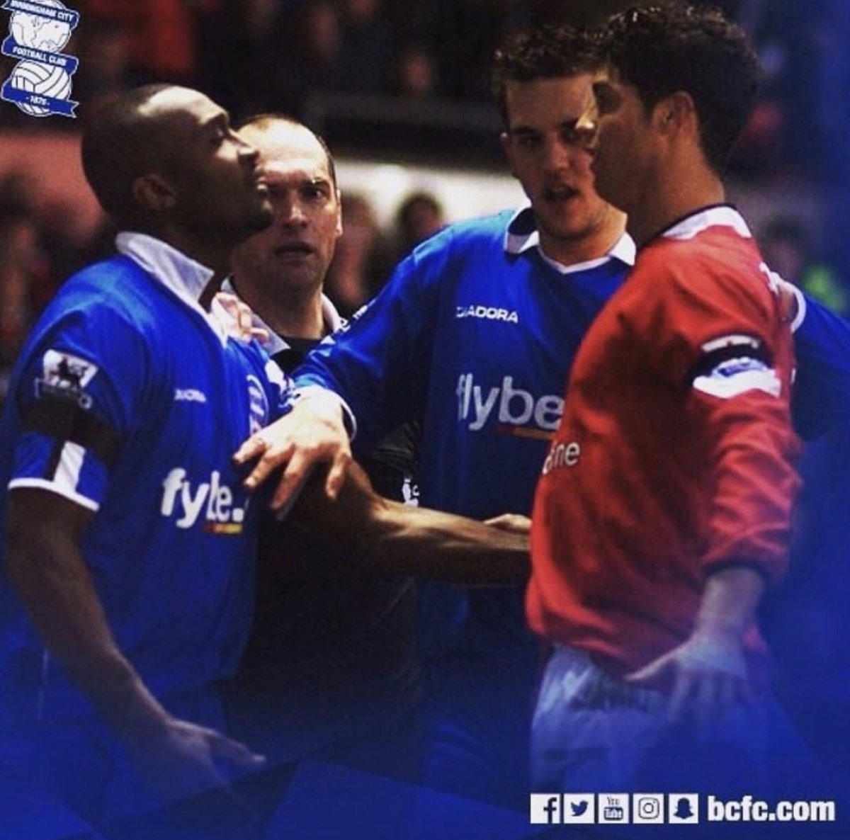 Throwback to when Cristiano Ronaldo cacked his pants at the sight of Oliver Tebily.   #bcfc <br>http://pic.twitter.com/Gh6nLkauxz