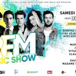 Image for the Tweet beginning: #RFMMusicShow 2019 | Plateau 5