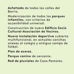 Image for the Tweet beginning: ELECCIONES 26M 💚  Esta tarde a