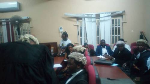 D6 9ir2XYAAgbBp - Trial Day1: Naira Marley's mum bursts into tears, as son appears in court