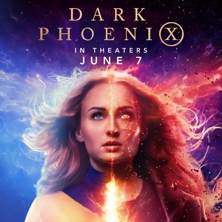The game is over, now the Phoenix will rise. #DarkPhoenix is in theaters June 7.