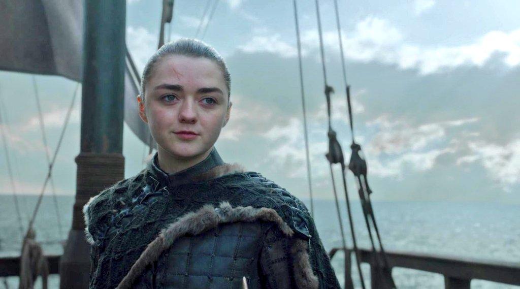 A girl is Arya Stark of Winterfell 🐺 #GameOfThrones (h/t @monodelarctic)