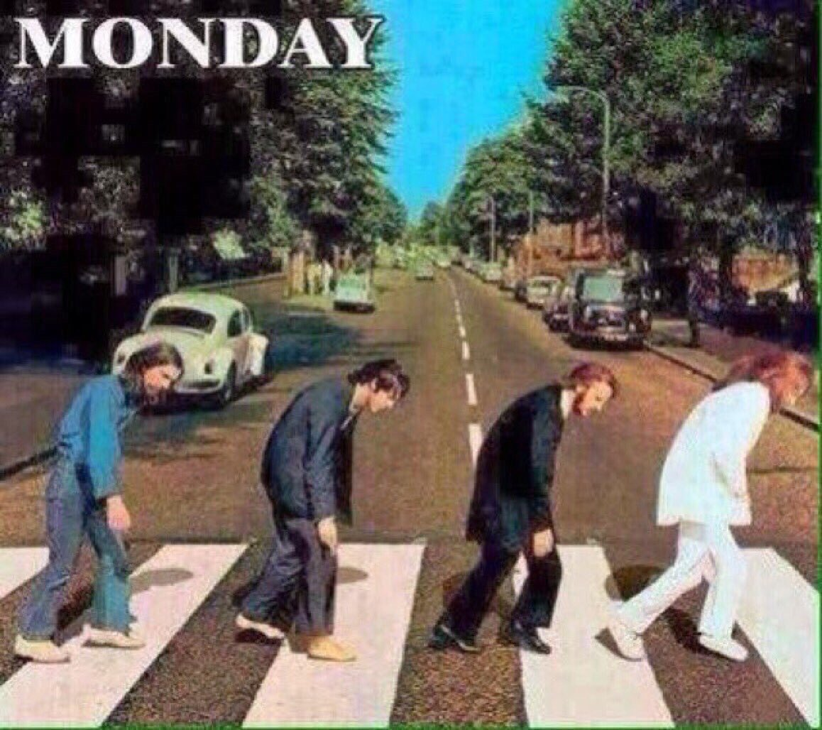 Woke up, fell out of bed. Dragged a comb across my head Found my way downstairs and drank a cup...😴☕️ #TheBeatles #MondayMotivation Good Morning Tweeps, have a good week and be awesome 😉