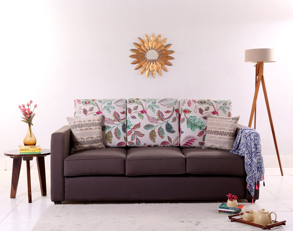 aa52d952d The Nicolas 3 Seater Sofa has a durable and sturdy frame which makes it a  classy piece. click here to buy  - http   bit.ly 2QfUgCa  woodenstreet   solidwood ...